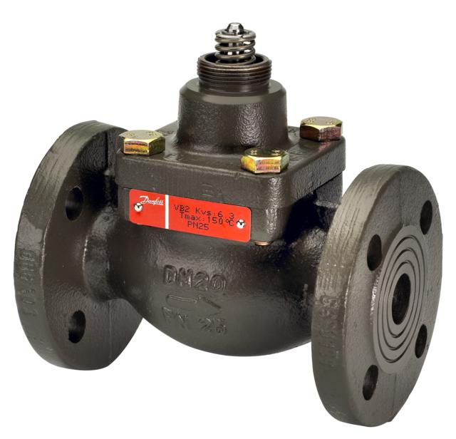 2-way pressure balanced valve type VB 2